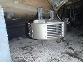 床下換気扇攪拌機