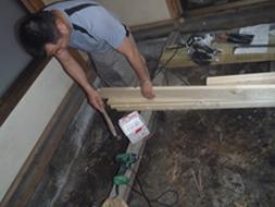 木工事状況