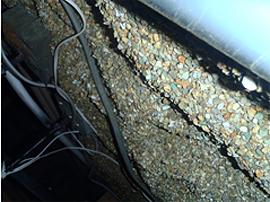 床下換気扇の取り替え