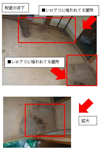 和室の床下